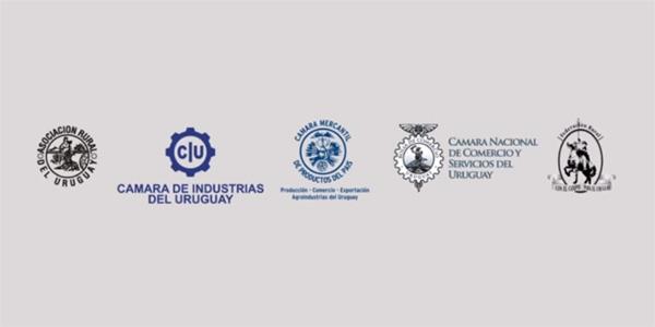 """Logos de Cámaras Empresariales. Foto: Video """"Aportes para una agenda..."""" de 08/2013"""