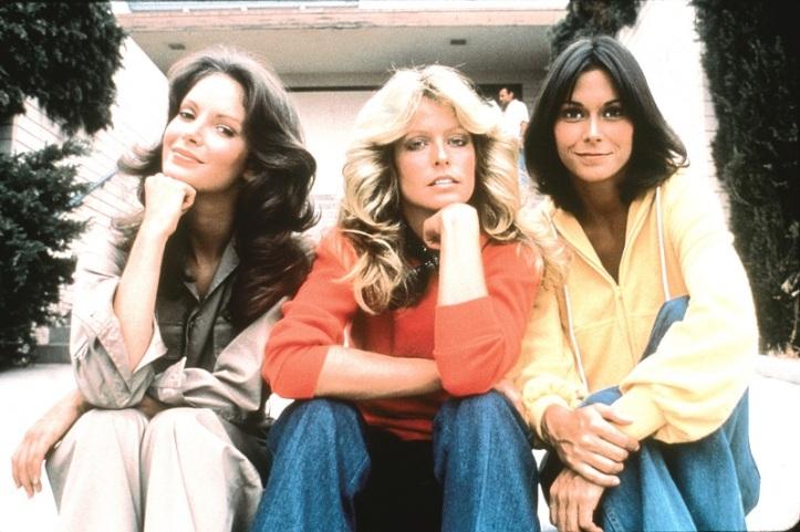 Actrices de Los Ángeles de Charly, serie televisiva de los años 70.