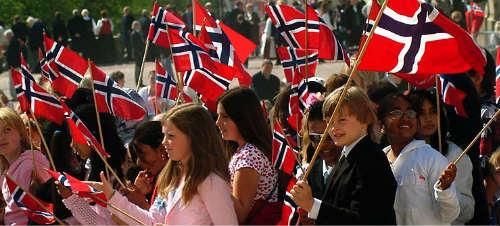 Niños noruegos. Foto: Absolute Norway.