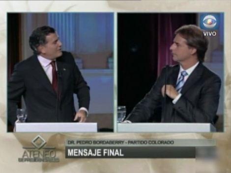 Bordaberry desafía a Lacalle Pou en Ateneo Presidencial. Foto: Subrayado.