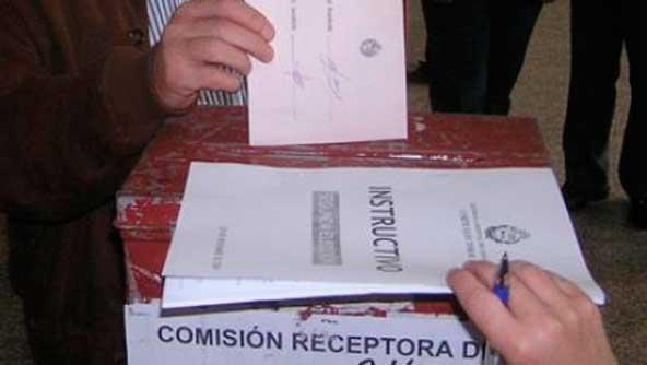 Urna Electoral 2009. Foto: Montevideo Portal.