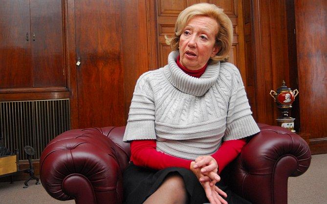 María Julia Muñoz. Foto: Diario La República.