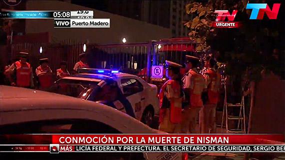 """Canal de noticias """"TN"""" informa sobre el suicidio de Nisman. Foto: Noticiasmontreal.com"""