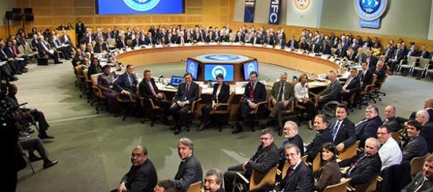 Asamblea anual del FMI. Foto: VTV.