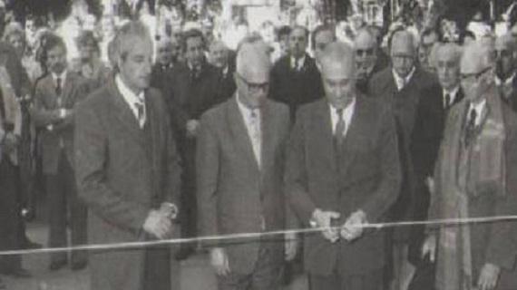 Óscar Víctor Rachetti inaugura obras en el Jardín Botánico. Foto: Subrayado.