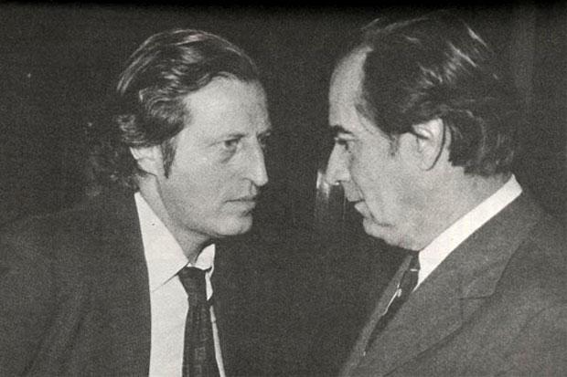 Zelmar Michelini y Wilson Ferreira Aldunate. Foto:  Montevideo Portal.