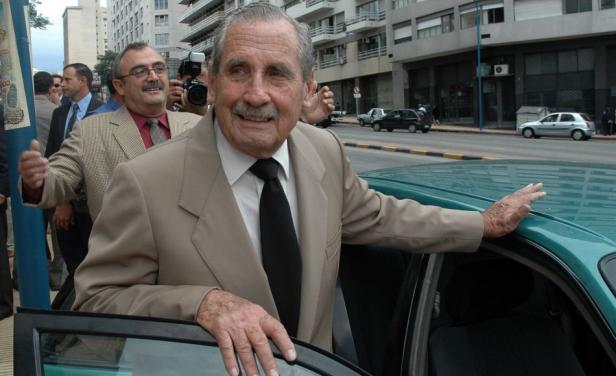 Ex dictador Gregorio Álvarez. Durante su gobierno asumió como consejero el colorado Walter Belvisi.