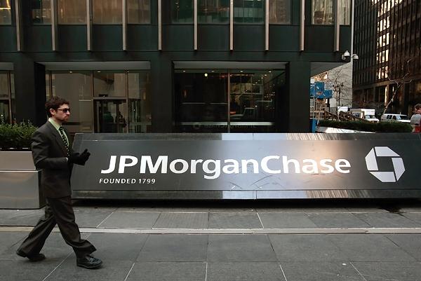Sede de la banca J.P. Morgan Chaise. Foto: Revista Rolling Stone.