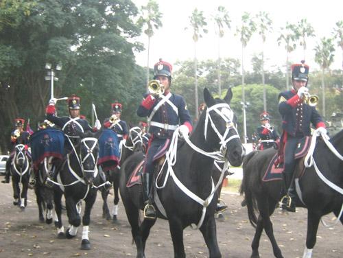 Charanga de Blandengues. Foto: Ejército Nacional.