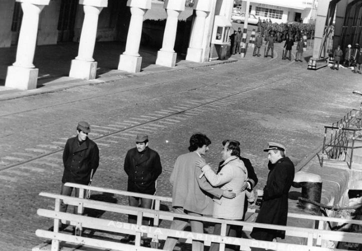Arribo de Wilson Ferreira del 25 de junio de 1984. Foto: ICNNoticias.