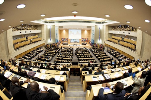 Asamblea anual de la OIT. Foto: web OIT.