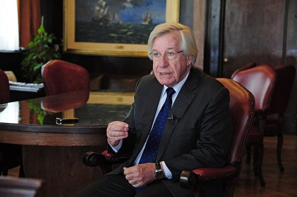 Ministro de Economía y Finanzas, Danilo Astori. Fuente: Presidencia.