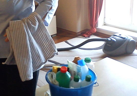 Empleada doméstica. Foto: apdtec.com