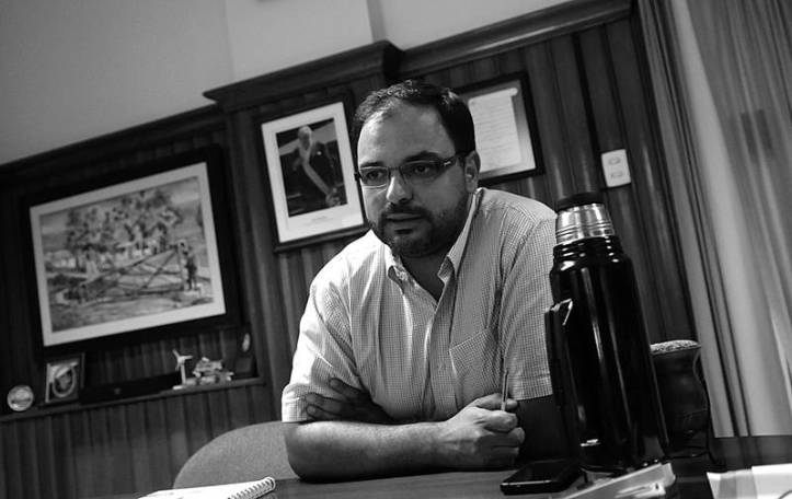 Director general de secretaría del Ministerio del Interior. Foto: La Diaria.