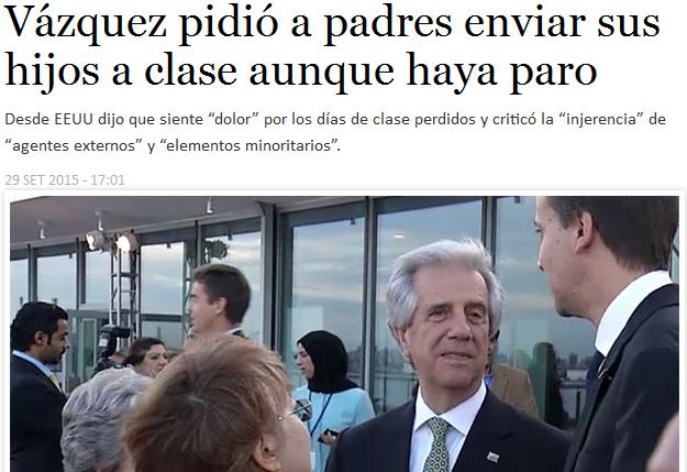 Vázquez dijo que cabe la posibilidad de reasignaciones en el presupuesto. Foto: Subrayado.
