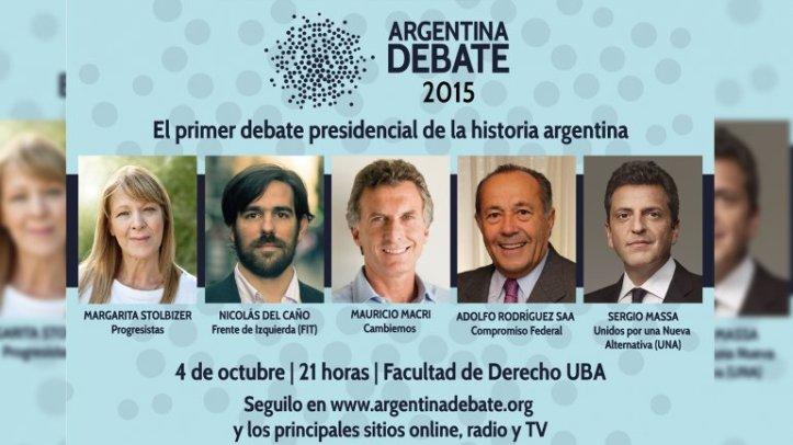 #ArgentinaDebate. Foto: InfoBae.