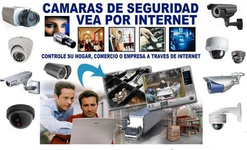Publicidad de cámaras de seguridad. Foto: ar.clasificados.com