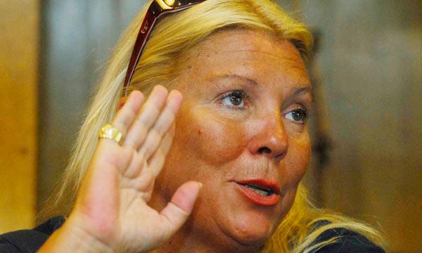 Elisa Carrió. Foto: puntonoticias.com