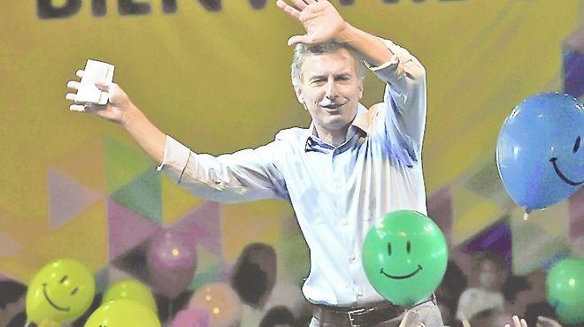 Mauricio Macri. Foto: La Razón.