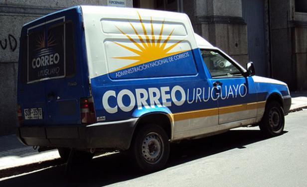 Camioneta de El Correo. Foto: El País.
