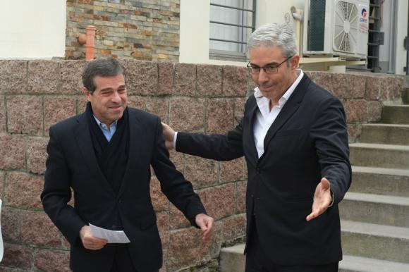 Ernesto Talvi y Robert Silva. Foto: El País.
