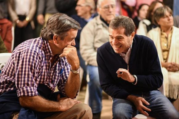 Carlos María Uriarte y Ernesto Talvi. Foto: El País.