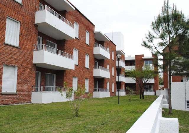 Complejo de viviendas para jubilados. Foto: BPS.