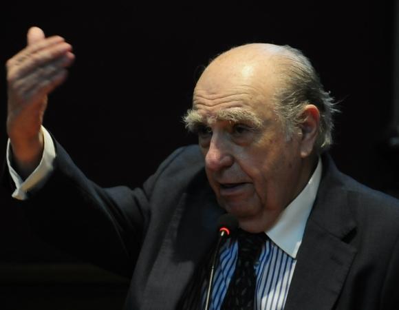 Julio María Sanguinetti. Foto: El País.